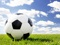 والپیپر توپ فوتبال و چمن