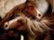 نقاشی رنگ روغن حیوانات