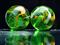 تیله های سبز سه بعدی