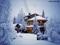 کلبه در زمستان