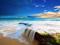 منظره بسیار زیبای ساحل دریا