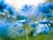 عکس گلهای آبی فیروزه ای