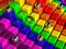 والپیپر مکعب های رنگارنگ سه بعدی