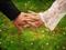 عکس دست عروس و داماد