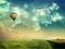 زیباترین منظره رویایی با بالن