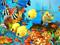 ماهی های آکواریومی رنگارنگ
