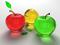 سیب های شیشه ای سه بعدی