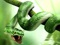 مار سبز خشمگین