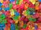 پاستیل های رنگارنگ خرسی