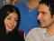 محمدرضا فروتن و همسرش