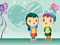 عکس کارتونی دخترانه عاشقانه