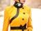 مدل مانتو زرد 2013
