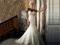 مدل لباس عروس گلدورزی شده