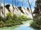 نقاشی رودخانه و طبیعت