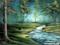نقاشی طبیعت و جنگل