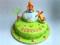 کیک تولد کارتونی پوه
