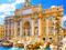 فواره تروی آبنمایی در رم ایتالیا