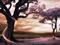 درختان بهشتی زیبا و رویایی