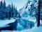 عکس رودخانه در فصل زمستان
