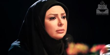 نیوشا ضیغمی و حجاب کامل aks ba hejab kamel zeighami