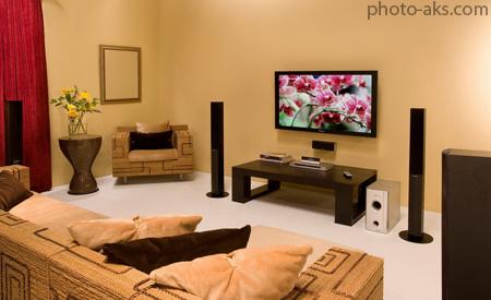 دکوراسیون اتاق تلویزیون dekor otag television