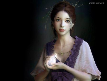 عکس زیبای دختر فانتزی fantasy gilr wallpaper