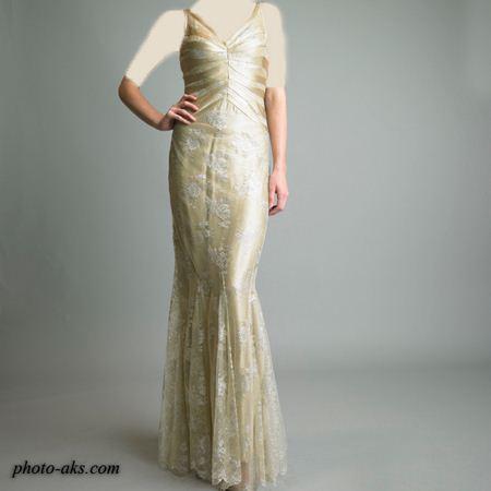لباس مجلسی حریر زنانه 2012 woman party dress
