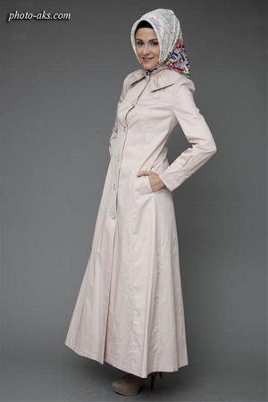 مانتو اسلامی سفید eslamic long manto