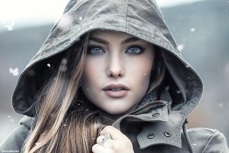عکس دختر مدل زیبا خارجی girl fashion model