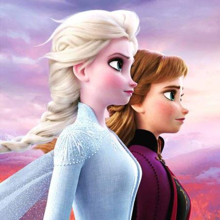 آنا و السا فروزن 2 ana elsa frozen 2