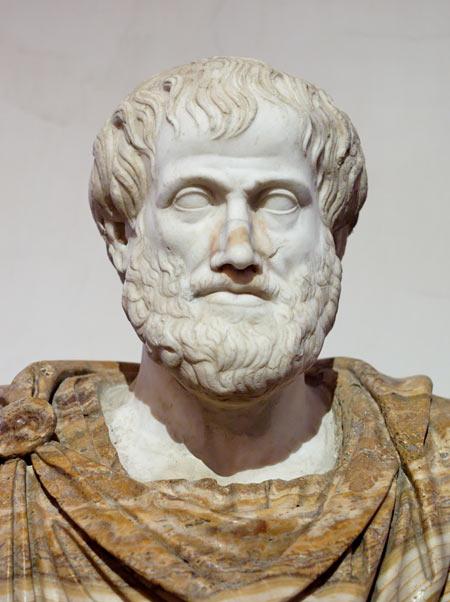 عکس مجسمه چهره ارسطو aristotle statue
