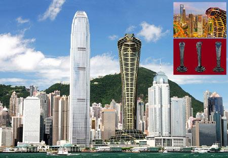 برج مار کبری آسیایی asian cobra tower