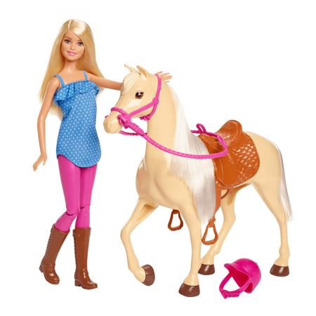 عروسک باربی با اسب barbie doll with horse