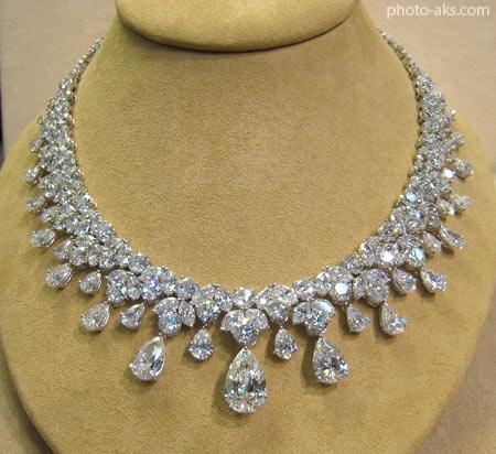 گردنبند الماس diamond necklace