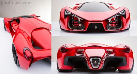 سریعترین ماشین سوپر اسپرت ferrari f80 magnifique