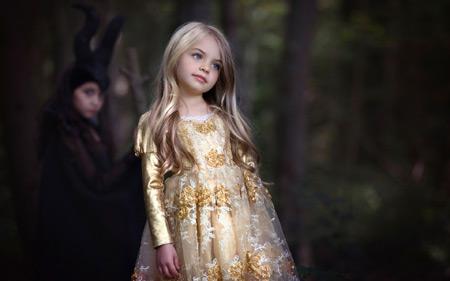 دختربچه با لباس مجلسی خوشگل girl child beautiful dress