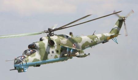 هلیکوپتر روسی میل 24 mil mi 24