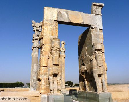 دروازه ملل در تحت جمشید gate of all nations