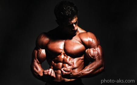 فیگور جلوبازو بدنسازی bodybuilder wallpapers