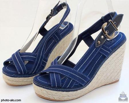 مدل صندل دخترانه ladies sandals blue