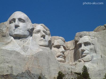 یادبود کوه راشمور در امریکا mount rushmore