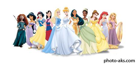 پرنسس های کارتونی دیزنی disney princess