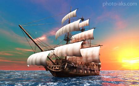 کشتی دزدان دریایی pirates ship