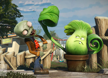 بازی گیاهان علیه زامبی ها plants vs zombies garden