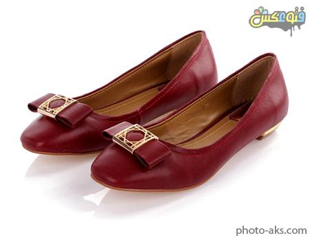 کفش دخترانه بدون پاشنه red women flat shoes