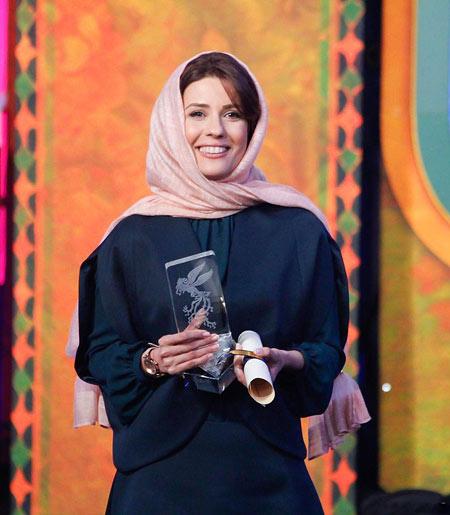 سارا بهرامی برنده سیمرغ بلورین sara bahrami