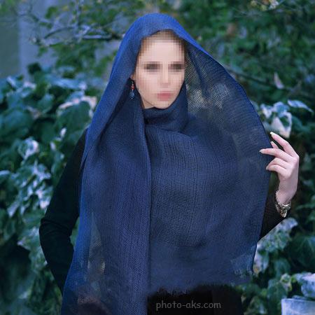 مدل شال دخترانه تابستانی shak tabestani sade
