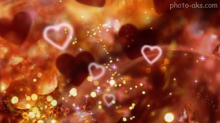 والپیر زیبای قلب های درخشان shiny red hearts love