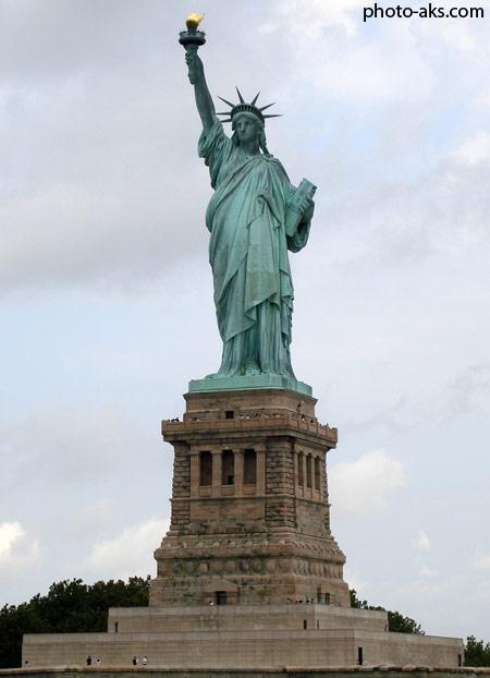 مجسمه آزادی در شهر نیویورک  statue of liberty