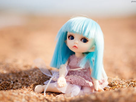 عکس عروسک ناز کوچولو toy doll mood